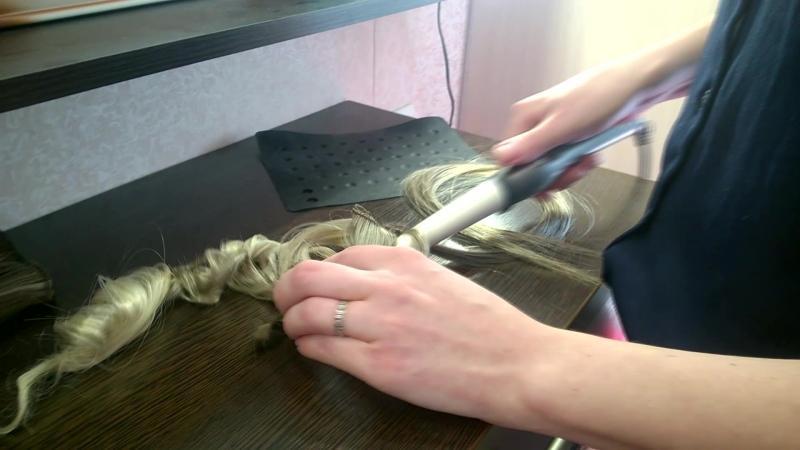 Как завивать волосы термо на заколках от ByHairSbor