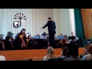 Авдеева Земфира. Концерт для домры с оркестром.(Будашкин)