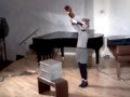 Shira Legmann performing One for Violin Solo / Nam June Paik (1962)