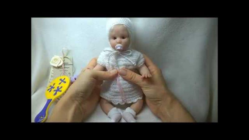 Авторская кукла из силикона Венди Silicone author's doll Wendy