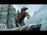Дракон,конь суицидник и его смертельная ловушка Skyrim ps4