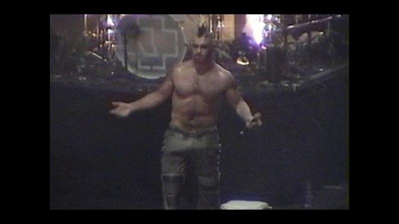 Rammstein - [LIVE] Detroit, Cobo Arena, USA, 2001.10.23 [FULL VIDEO BOOTLEG]