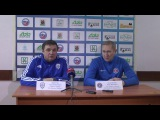 Послематчевая пресс-конференция. Динамо-Казань - Енисей (Красноярск)