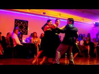 Guillermo and Mariela, Yuliana, Elaine - Maps/ Jukebox - Milonga Querida 11/4/2016