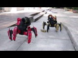 2.4G Intelligent RC Robot Space Armor Warriors Six-legged Spider Robot