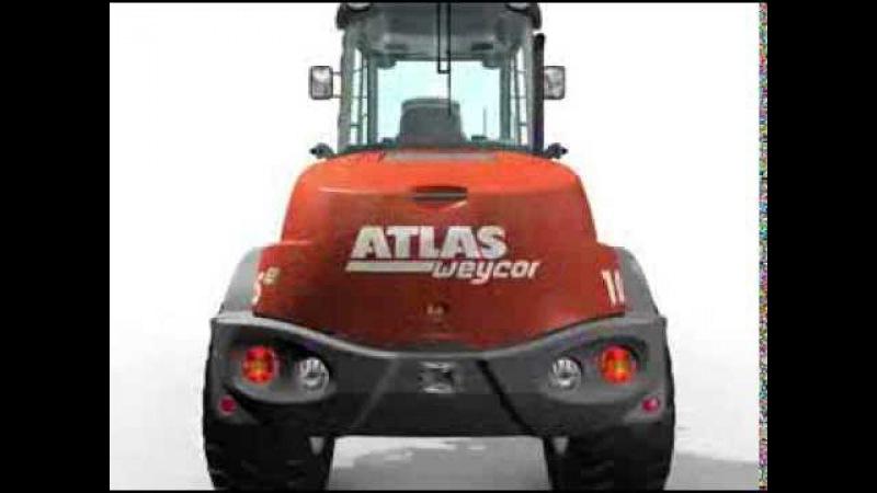 Big loader Atlas Презентация погрузчика ATLAS AR 105e www.atlas-rus.ru www.bautechnika.com