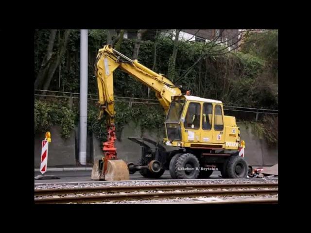 Рельсовые экскаваторы ATLAS, ATLAS-TEREX rail excavators www.ATLAS-RUS.ru