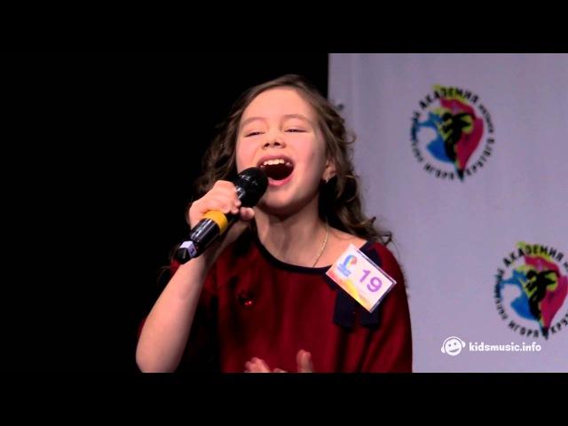 Мария Мирова - Sweet People,Грею счастье (Ёлка cover)(live@Полуфинал Детской Новой Волны 2016 (№ 19))