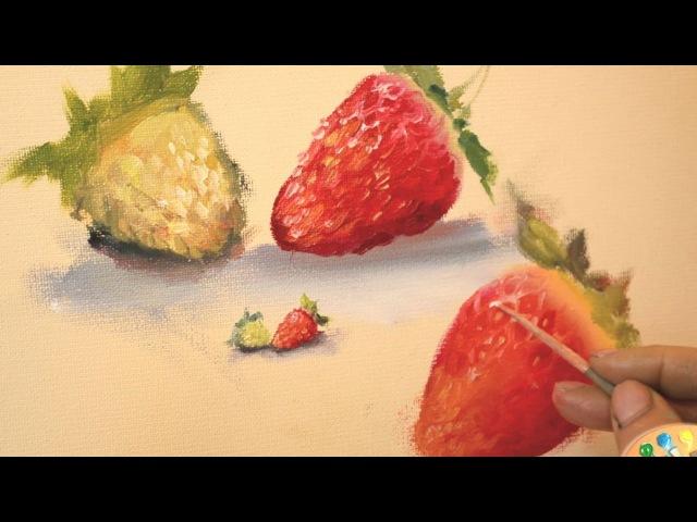 Лесные ягоды: земляника и клубника, их отличие. Ольга Базанова