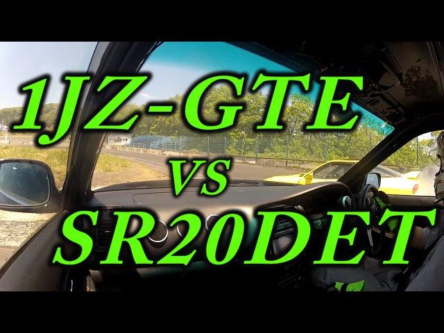 1JZ-GTE non vvti single turbo drifting sound TRUST T67-25G boost 1.6kgf/cm2