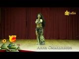 Alla Smyshlyaeva bellydancer أللا عزيزة -Alf leila wi leila Gala show 2017