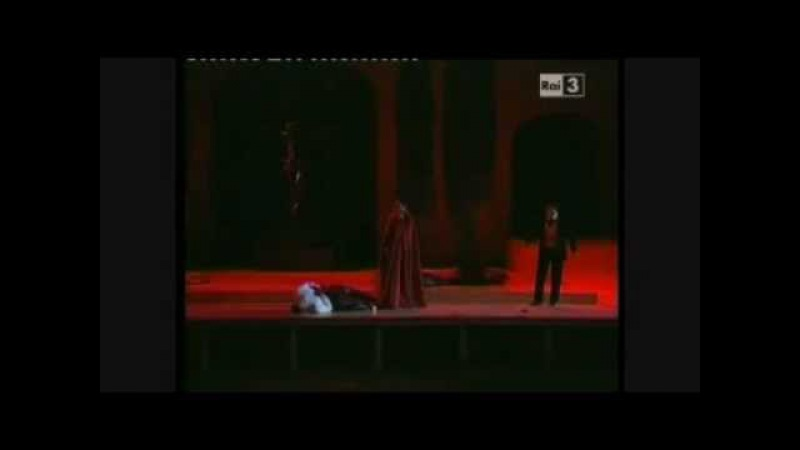 Faust- Reharsal (Faust and Valentin's fighting scene)