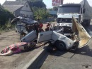 Жесткие аварии с грузовиками / ДТП со смертельным исходом.