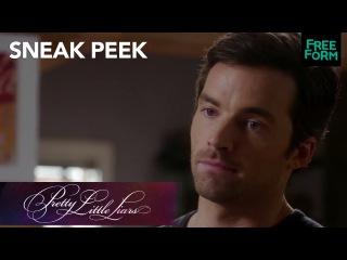Pretty Little Liars   Season 7, Episode 15 Sneak Peek: Ezra Frustrated on the Phone   Freeform