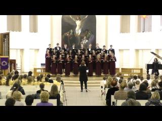 Трисвятое. Древний распев ( youth choir Rondo, St. Petersburg, Russia)