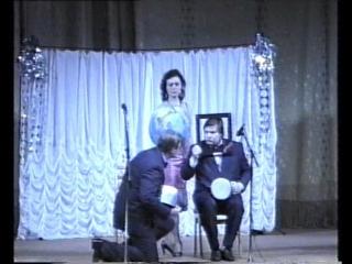 """1989 г. """"Смех в квадрате"""", отрывок, Марина Алексеева, Николай Бандурин и Михаил Вашуков"""