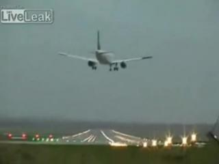 Экспериментатор. Посадка самолета Airbus при плохих погодных условиях