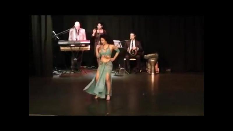 Artemis Bellydance Improvisation Zein el Havva with arbic Live Music BVOT Gala 3