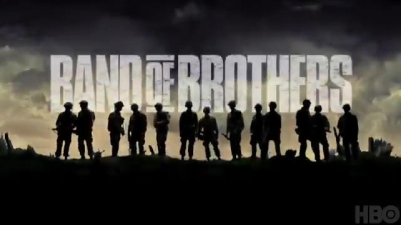 Братья по оружию - Band of Brothers - Трейлер - 2001