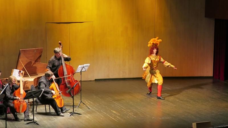 Антрэ Апполона из опера-балета