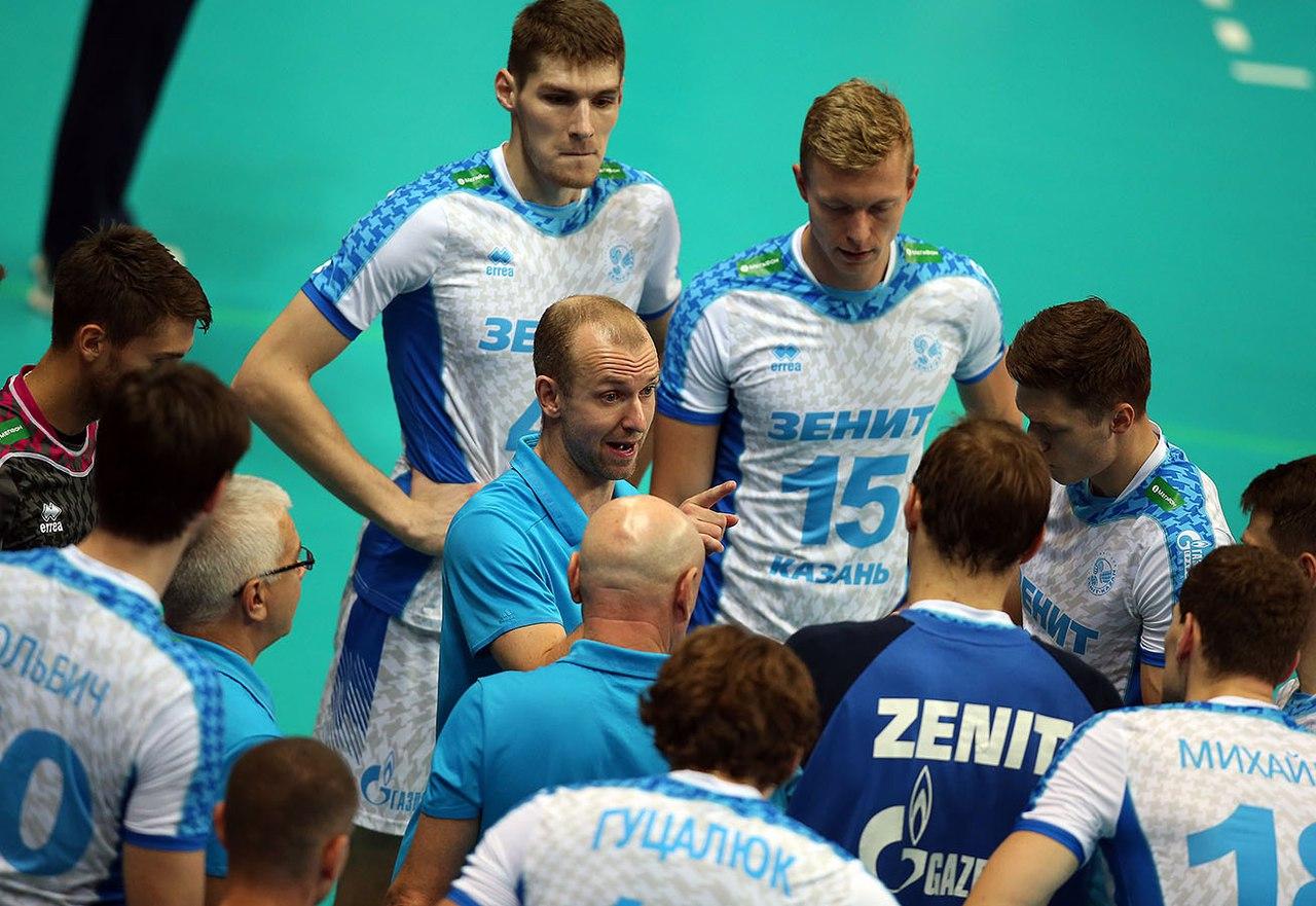Казанский «Зенит» одержал 32-ю победу подряд вмужской Суперлиге