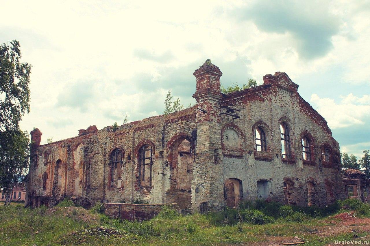 Бывший цех Тирлянского завода