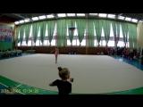 Парфенова Екатерина 2008 г.р. обруч. открытое первенство по художественной гимнастике