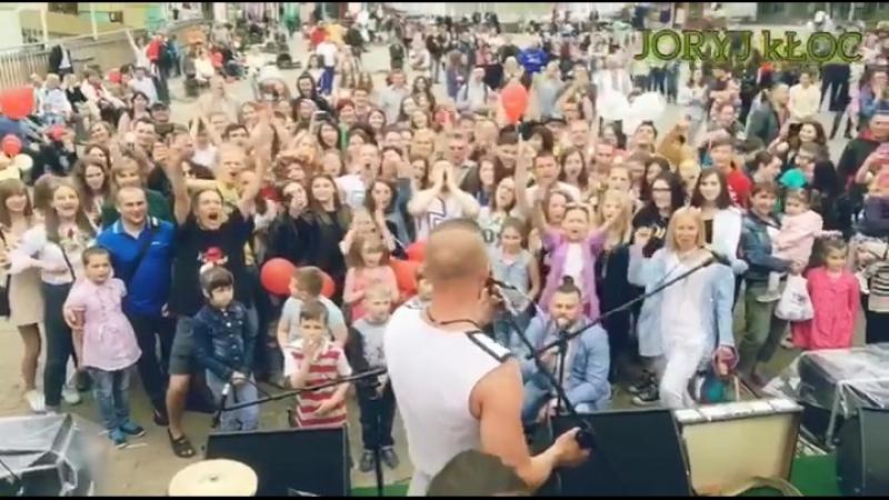 20/05/2017 RIVNE, ZLATA PLAZA -- 7 rokiv!! Joryj Kłoc