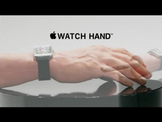 Humour. Introducing The Apple Watch Hand (Pre- & Intermediate)