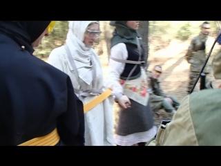 Пытки мирных албанских девушек сербскими партизанами