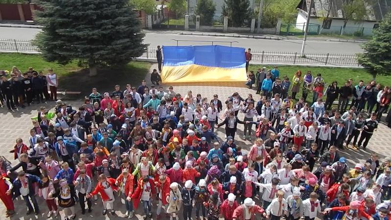 9 травня-День перемоги. Флешмоб