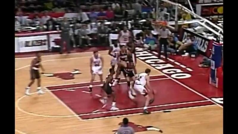 1992 Chicago - Portland - 1.Maç - NBA Finali