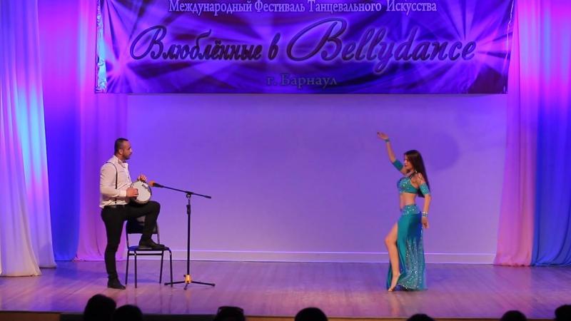 Табла-соло Импровизация под живую дарбуку с Orhan Ismail!! 1 место