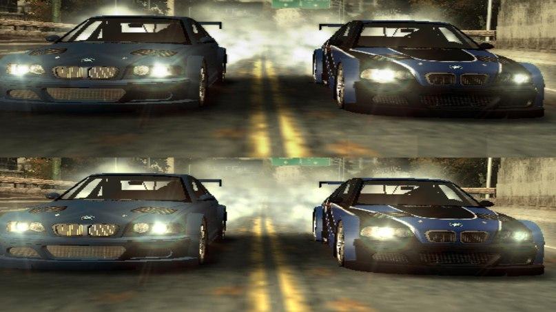 NFS Most Wanted PS2 Demo - Main Menu + Huge amount of pics