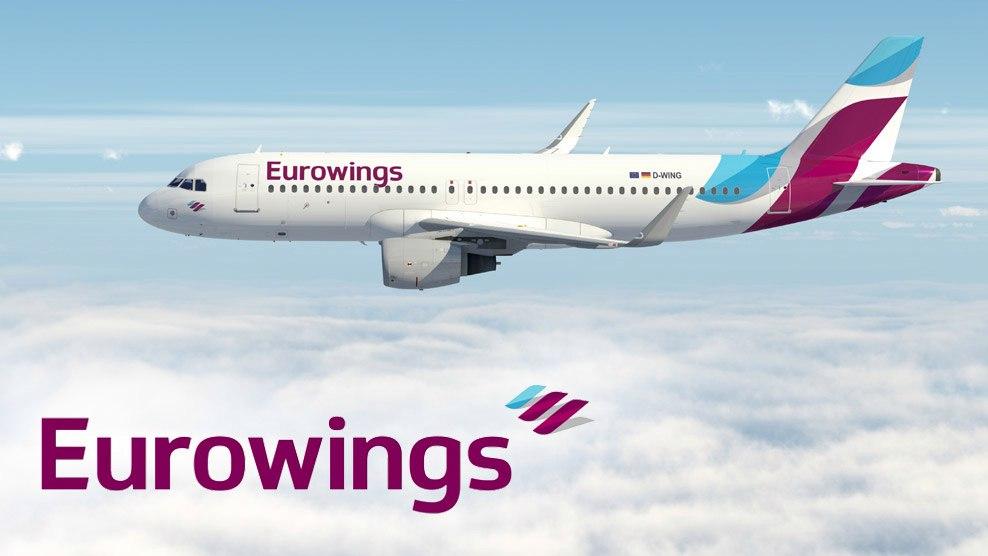 Немецкий лоукостер Eurowings прекратит полеты в Россию