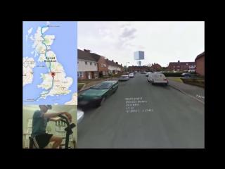 Очки виртуальной реальности   велотренажер   карты Google