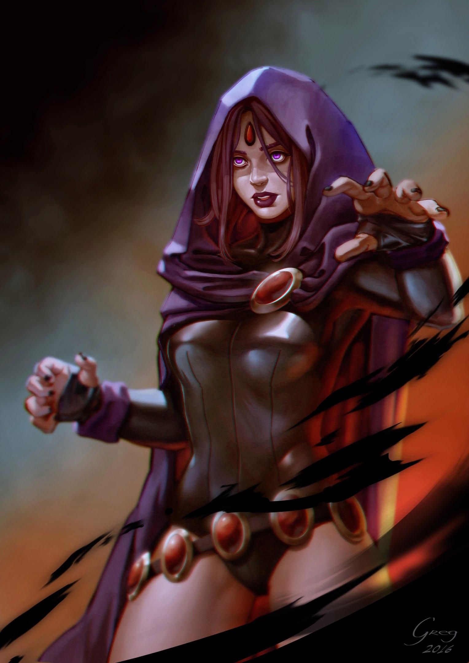 девушка маг колдунья
