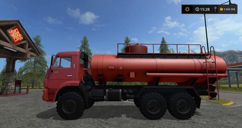 КамАЗ Бензовоз Farming Simulator 2017