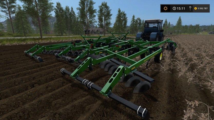 John Deere 2720 Disk Ripper Farming Simulator 2017