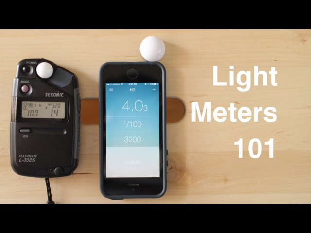 Light Meters 101 Sekonic vs Lumu