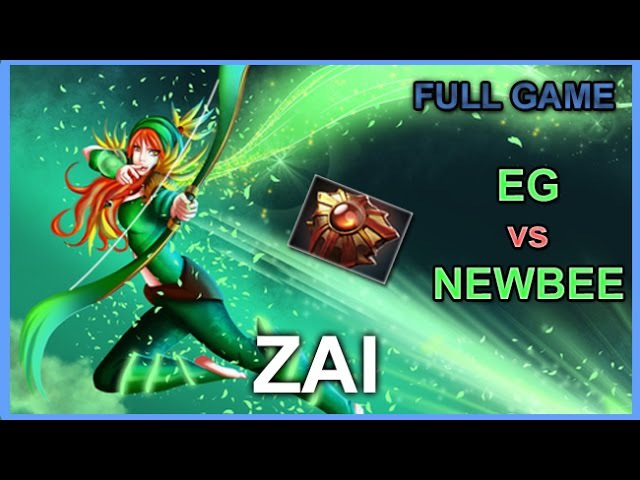 Zai Widnranger Support, EG vs Newbee @ Kiev Major