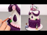 (https://vk.com/lakomkavk) How To Make a Princess Sofia The First Cake by CakesStepbyStep