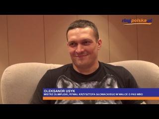 Oleksandr Usyk: niech Kliczko znokautuje Fury'ego i przejdzie na emeryturę