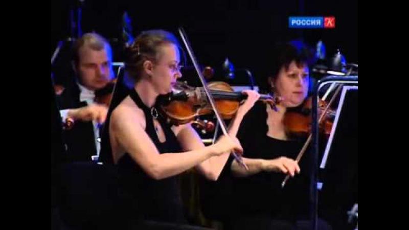 Репортаж о концерте Д.Хворостовского в театре Новая опера