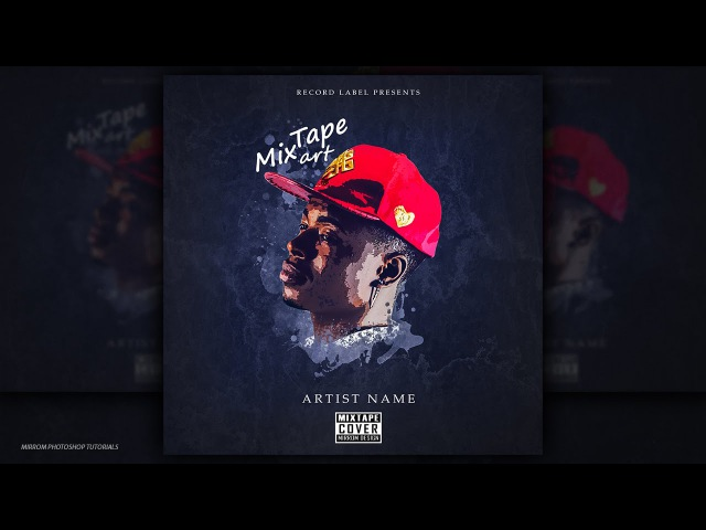 Mixtape Cover Art Design - Photoshop CC Tutorial