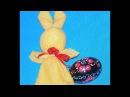 Пасхальный кролик в технике мотанки МК
