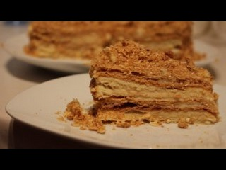 домашний торт Наполеон/Napoleon