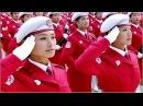 CHINESE MILITARY FEMALE PARADE TEAM: LOS PERUANOS PASAN