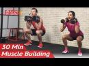 HASfit Leg Muscle Building Workout with Dumbbells Силовая тренировка для ног и ягодиц рост мышц