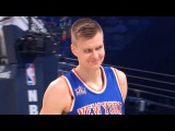 Kristaps Porzingis All 3 Rounds of Taco Bell Skills Challenge!  02.18.18